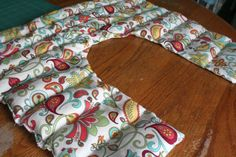Rice Shoulder Heating Pad tutorial! MAKE!