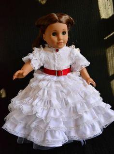 Gone with The Wind Scarlett O'Hara Civil War Dress for American Girl | by luminariadesigns via eBay ends 11/5/13  Bid $85.00