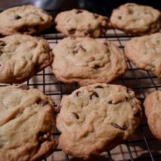 Chocolate Chip Cookies with Guittard chocolate chips  // powerful positivity