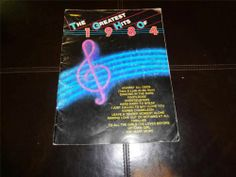 THE GREATEST HITS OF 1984 TRUMPET MUSIC BOOK FOOTLOOSE THRILLER MICHAEL JACKSON