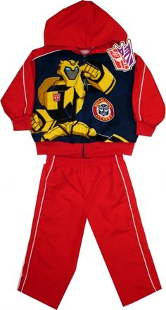 Trening oficial Transformers, 100% polyester.