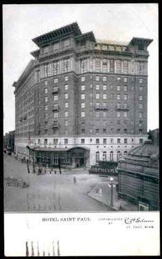 St Paul Hotel 363 Peter 1912