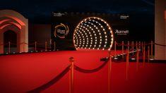 Concert Stage Design, International Film Festival, 25th Anniversary, Installation Art, Art Direction, Behance, Photoshop, Graphic Design, Display