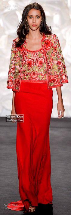 Naeem Khan Spring 2015 RTW
