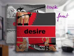 Desire / Ecstasy Pillow - moleeco clothing