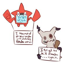 My two favorite pokemon and their shame. Pokemon Shaming, Pokemon Alola, Pokemon Comics, Pokemon Funny, Pokemon Memes, Pokemon Stuff, Pokemon Go Cheats, Anime Animals