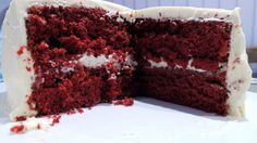 red velvet layer cake.