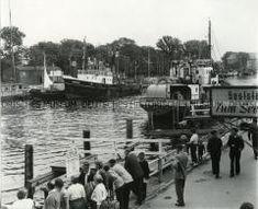 Rostock-Warnemünde, Alter Strom, um 1955, Foto Josef Schmidt