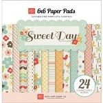 """Sweet Day Double-Sided Cardstock Pad 6""""X6"""" 24 Sheets"""