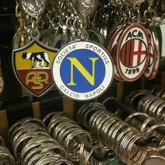 #sports #soccer #calcio #team #keychain #legaseriea #SerieATIM #Napoli #Napulitan #Neapolitan #Naples #partenopei #forzanapoli #forzanapolisempre💙 #napolijuve #Vesuvio #Vesuvius #Italia #Italy #LittleItaly #NYC #NY #NewYorkCity #NewYork #Manhattan #Brooklyn #articoliitaliani #gifts #housewares #music #ilovenapoli Little Italy, Buick Logo, Naples, Manhattan, Brooklyn, Soccer, Nyc, Music, Sports