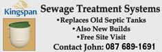 Sewage Treatment, Septic Tank, Site Visit, New Builds, Free