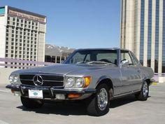1973 Silver mercedes 450 SLC
