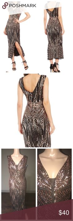 9f62afc8d2 🔥👗BNWT Gianni Bini Jackie Pattern Sequin Dress Description From Gianni  Bini