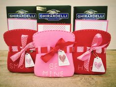 Valentine's Day Treat Bags by Erin Lincoln for Papertrey Ink (January 2016)