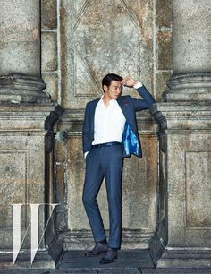 Joo Won & Kim Young Kwang Parade Their Handsomeness In Macau For W Korea's April 2015 Issue Sweet Stranger And Me, Kim Young Kwang, W Korea, South Korea, Sung Joon, Hong Jong Hyun, Joo Won, Love Rain, Lee Soo