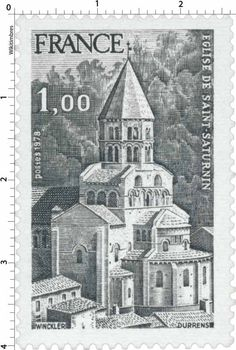 Postage stamp design Postage Stamp Design, Postage Stamps, Monuments, Saint Saturnin, Fun Mail, Old Stamps, Interesting Buildings, Stamp Collecting, Really Cool Stuff