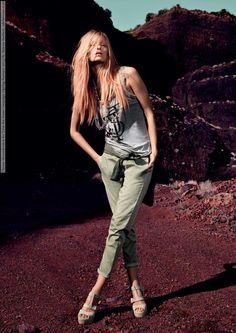 Theres Alexandersson for Twin-Set Simona Barbieri Jeans Campaign (Spring-Summer 2013)  #TheresAlexandersson #Twin-SetSimonaBarbieri