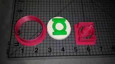 Green Lantern Logo Cookie Cutter by JBCookieCutters on Etsy, $5.50