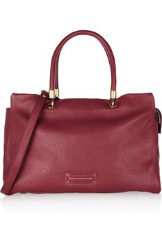Marc by Marc Jacobs | Too Hot To Handle textured-leather tote