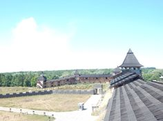 Парк Киевская Русь, вид сверху. Photo by Ira Korsun.