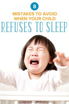 Struggling when your child won't sleep alone? Maybe she's going through sleep regression as many kids do, or you're going crazy trying to undo bad habits that have grown out of control. Don't worry—you're not stuck sleeping next to your toddler's bed or co-sleeping just to get her to stop crying. Start by avoiding these 8 mistakes that only make things worse when your 2 year old refuses to sleep through the night. Must-read tips for every exhausted mom! #sleep #toddler #toddlers