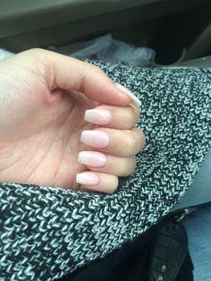 Bubble bath OPI coffin shaped nails ✨
