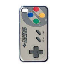 iPhone 4 Case Funny Sharp Super Nintendo Apple by CafilaShop, $15.59