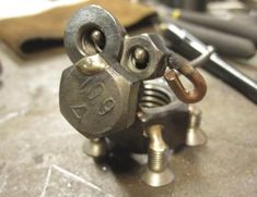 Tiny Sculptures Made out of Assorted Fasteners (46 pics) - Picture #5 - Izismile.com
