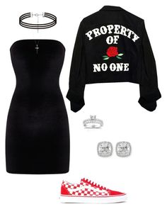 Untitled #21 by jacqueline-jj on Polyvore featuring polyvore, fashion, style, Vans, Frederic Sage, Annello and clothing