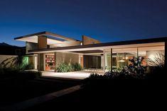 contemporary modernist house - santiago - 57studio - back