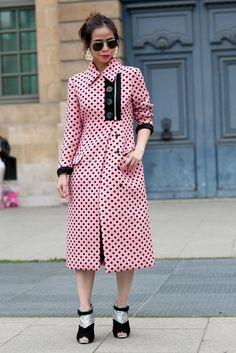 Best Street Style Paris Fashion Week Spring 2014 | Pictures | POPSUGAR Style & Trends