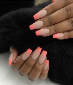 Very peachy....perfect nail color for the summer.... ✨✨
