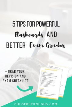 Create effective revision flashcards so you can achieve the high university and college grades you deserve. Study skills   education   tests   finals   study tips