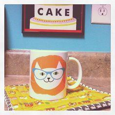 cat! mug! yay!