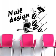 Nail Art Salon Sticker Make Up Spa Decal Beauty Posters Vinyl Wall Decals Decor Mural Nail Beauty Salon Wall Decal. Subcategory: Home Decor. Nail Salon Decor, Beauty Salon Decor, Beauty Salon Design, Nail Salon Design, Salons Decor, Vinyl Wall Stickers, Vinyl Wall Decals, Sticker Shop, Schönheitssalon Design