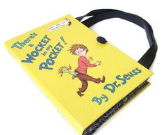 Book Purse   Dr Seuss There's a Wocket in My by retrograndma, $59.00