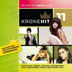 Das brandneue KRONEHIT Album Volume 11 ist jetzt da!    Auf CD 1 hörst du die besten neuen Hits von Rihanna, Gusttavo Lima, Alex Clare, Mike Candys uvm.    Auf CD 2 haben wir für dich die coolsten KRONEHIT Sommerhits zusammengestellt, z.B. mit Mr. President, Juanes, Shaggy und Shakira!
