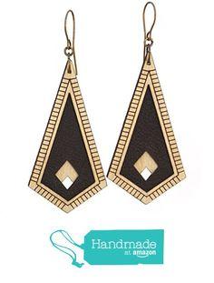 CORBEL   bold black earrings from Diamonds Are Evil https://www.amazon.com/dp/B016AT2PO8/ref=hnd_sw_r_pi_dp_MePuyb4MX2B5T #handmadeatamazon