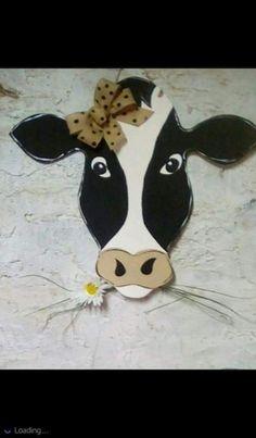 Barn Wood Crafts, Wooden Crafts, Door Hanger Template, Cow Face, Burlap Door Hangers, Wooden Shapes, Wood Cutouts, Kids Wood, Country Crafts