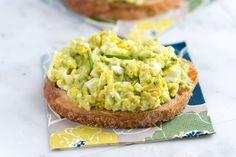 How to Make Quick and Easy Avocado Egg Salad