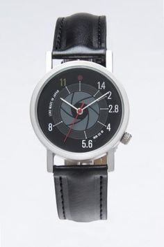 F-stop Watch... my Dad totally needs this!