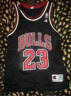 Rare Chicago Bulls Jersey Michael Jordan   23 Size 40 Champion NBA SAME DAY  SHIP Jordan b6db71e10eb