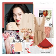 """Happy people are beautiful:)"" by rainie-minnie ❤ liked on Polyvore featuring moda, Sonam Life, Shiseido, The Row, Nearly Natural, Gucci, Chloé, Vitra, Isabel Marant y Casadei"