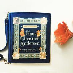 #hanschristianandersen #fairytales #bookbag by #krukrustudio #christmasgift #bookpurse #uniquegift #andersenfairytales #bookclutch