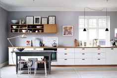 The fab Danish home and studio of a photogapher