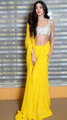 Janhvi Kapoor Latest Hot and Cute hotoshoot in Yellow outfit – Hot and Sexy Actress Pictures Bollywood Actress Hot Photos, Bollywood Girls, Beautiful Bollywood Actress, Beautiful Indian Actress, Bollywood Fashion, Indian Bollywood, Bollywood Style, Bollywood Quotes, Beautiful Saree