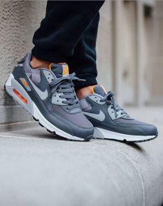 """Nike Air Max 90 Print """"Dark Grey/Total Orange"""""""