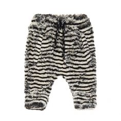 5443fbd125b Milk on the Rocks Peanut Pants (zebra fur) at Black Wagon