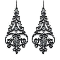 Fiorelli Chandelier Earrings - New In ($57) ❤ liked on Polyvore featuring jewelry, earrings, earring jewelry, fiorelli jewelry, chandelier earrings, fiorelli and chandelier jewelry