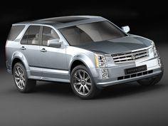 Cadillac Srx Suv 3D Model - 3D Model